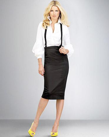 офисная одежда юбка