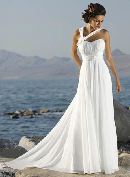 платья в греческом стиле свадебные