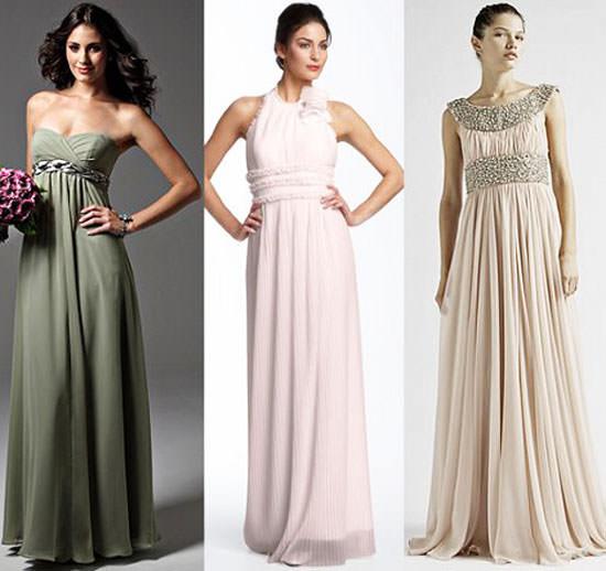 платья в греческом стиле вечерние