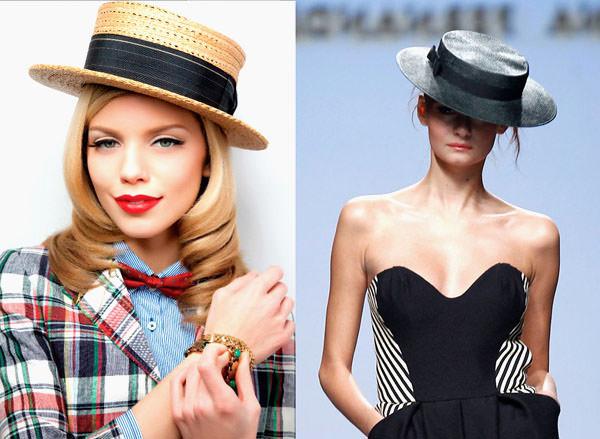 с чем носить шляпу элегантную