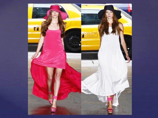 с чем носить шляпу и платье