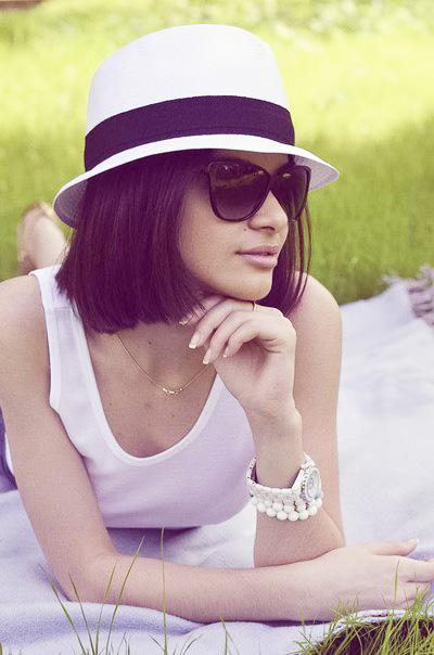 с чем носить шляпу летнюю