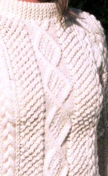 аранская вязка свитера