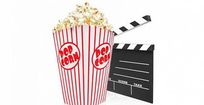 кинотеатр с попкорном