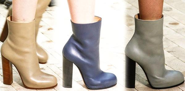 модная обувь осень 2014 полусапожки
