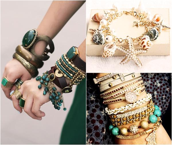 Женские украшение своим руками