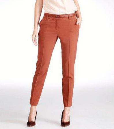 модные брюки зауженные
