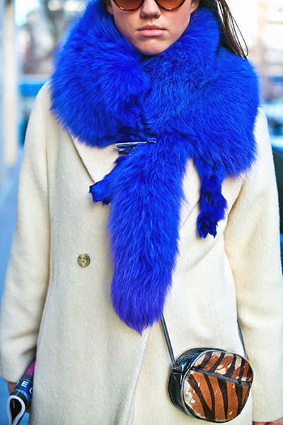 модные горжетки 2014