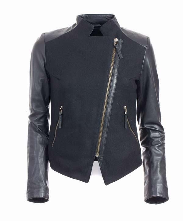 модные куртки 2014 комбинированные