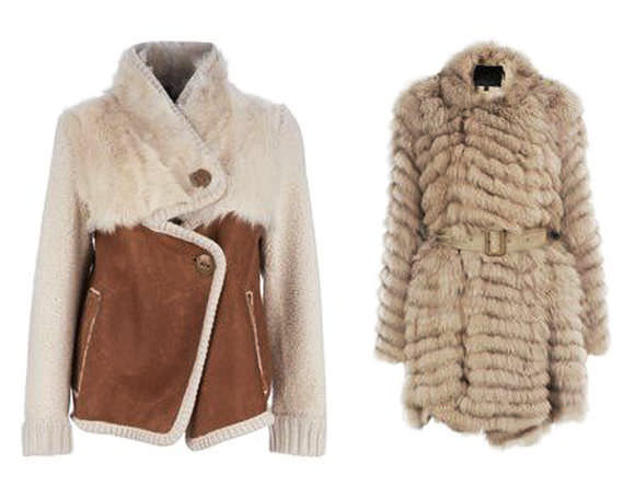 модные куртки осень 2014 дубленки