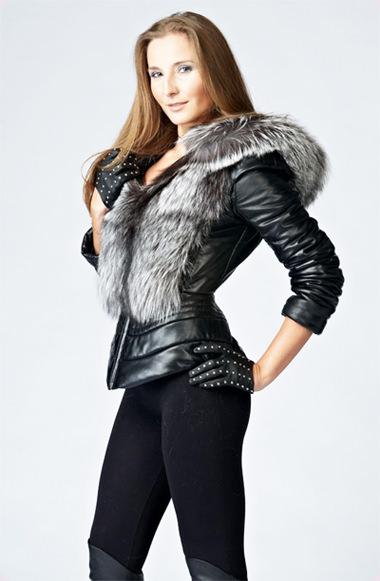 модные куртки осень 2014 меховые