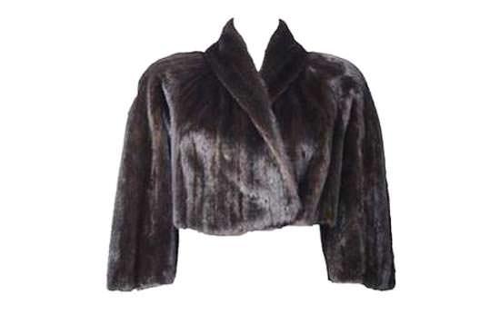 модные меховые болеро 2014