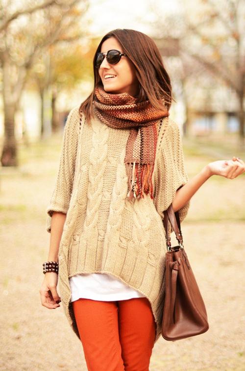 модные шарфы осень-зима 2014