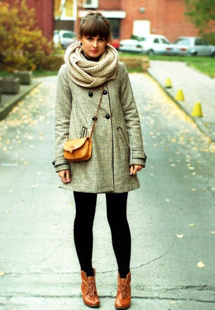 модные шарфы осень 2014