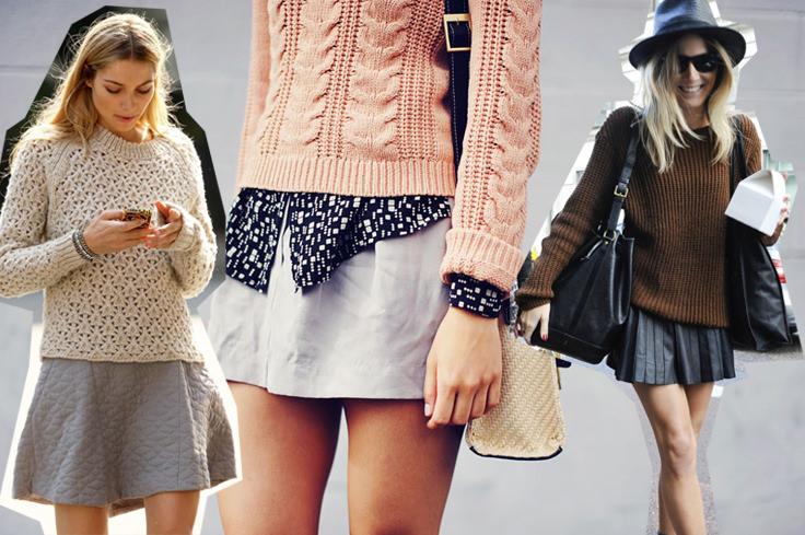 модные свитера 2014-2015