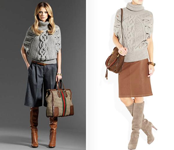модные свитера осень-зима 2014-2015