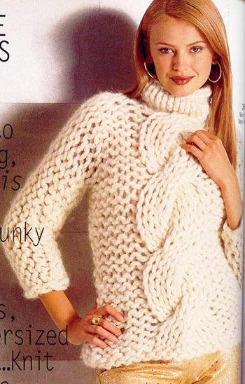 модные свитера с горлом 2014