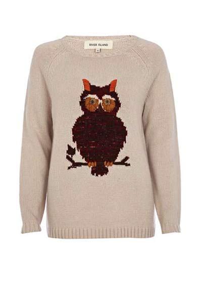 модные свитера с принтом 2014