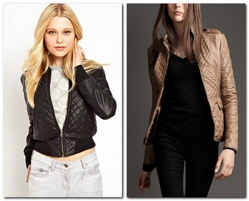 модные тенденции осени 2014 стеганая куртка