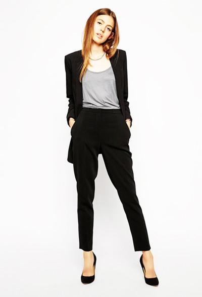 модные тенденции осени 2014 брюки сигареты