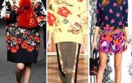 Модные тенденции осени 2014