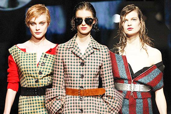 модные тенденции осени 2014 клетка