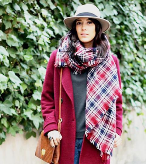 модные тенденции осени 2014 платки