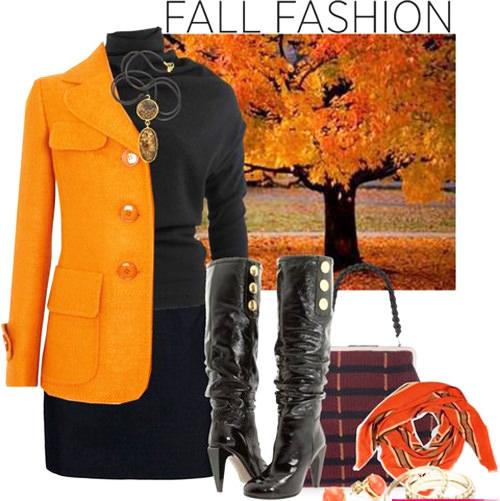 модные тенденции осени 2014 теплая цветовая гамма