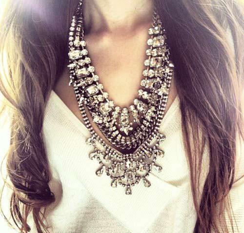 модные украшения на шею 2014