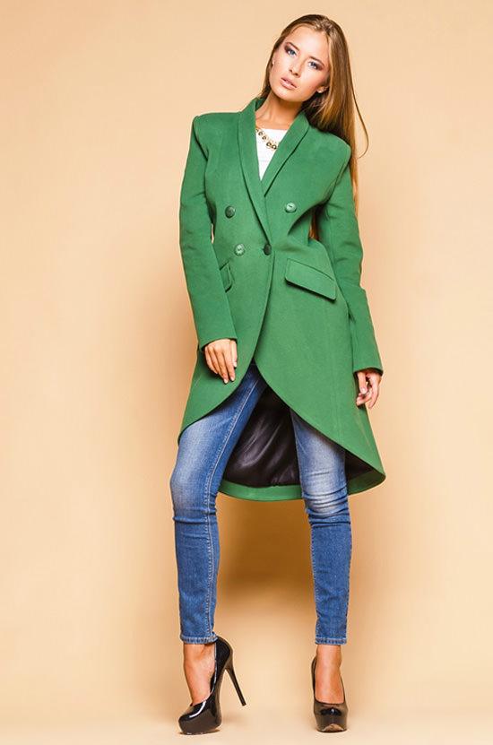пальто ассиметрия