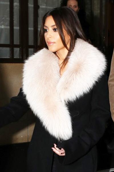 пальто с мехом 2014