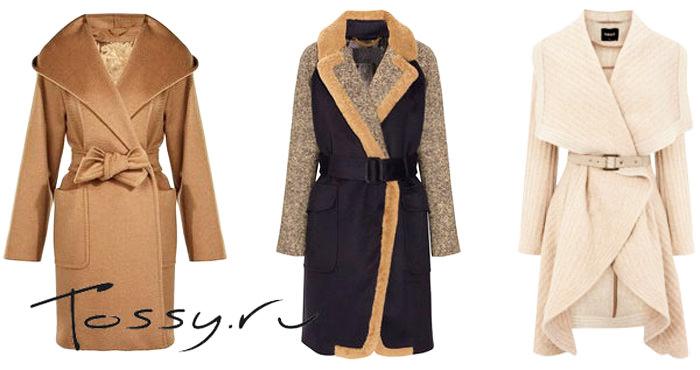 пальто с запахом 2014