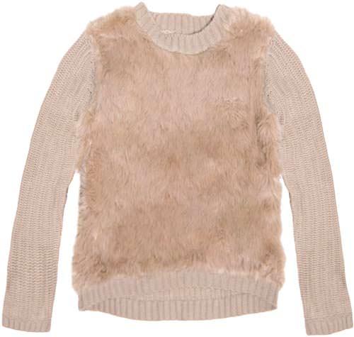 свитер с мехом 2014