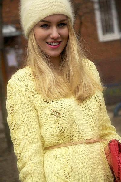 ванильный свитер 2014-2015