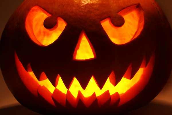фонарь Джека на Хэллоуин
