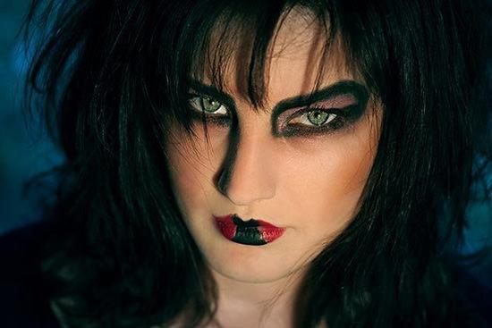 макияж на Хєллоуин