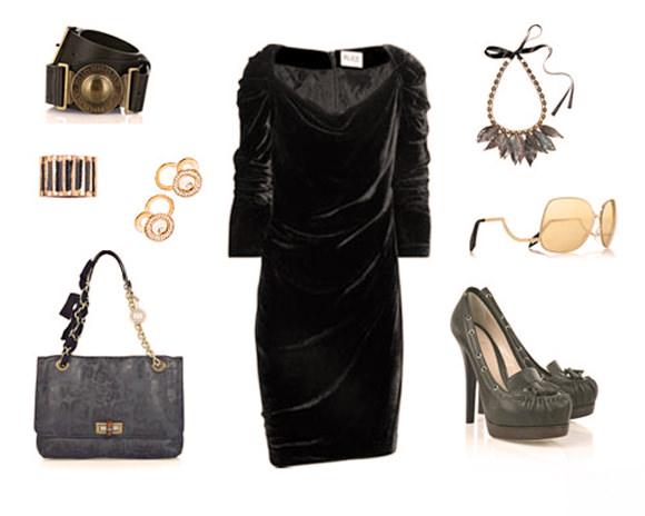 модная одежда 2014-2015 бархат