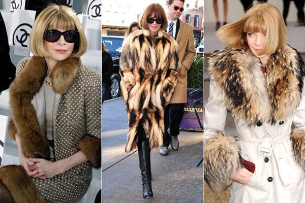 модная одежда 2014-2015 мех
