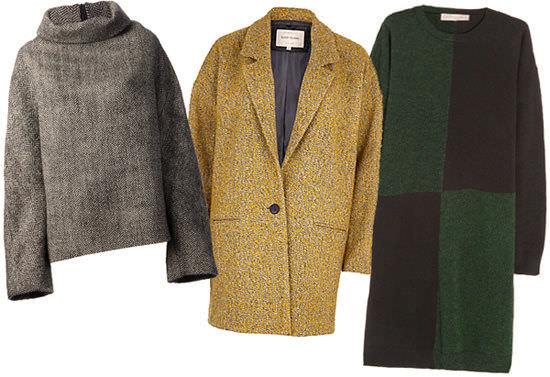 модная одежда 2014-2015 стиль оверсайз