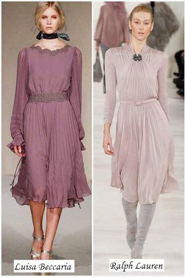 платья нежная сирень