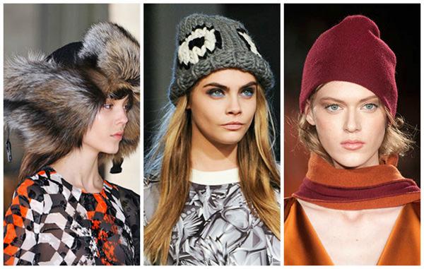 Модные шапки осень зима