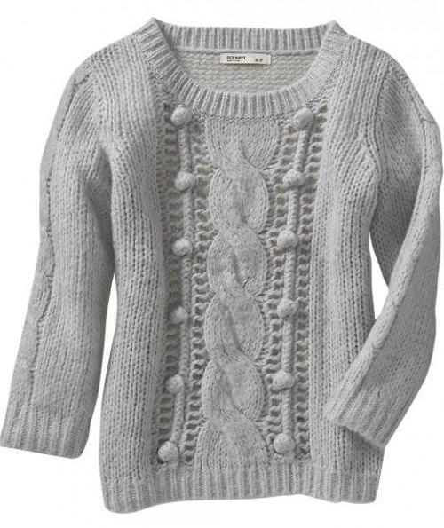 модные вязаные свитера 2014-2015