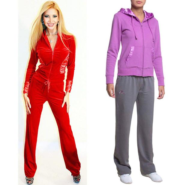 Спортивные костюмы женские брендовые