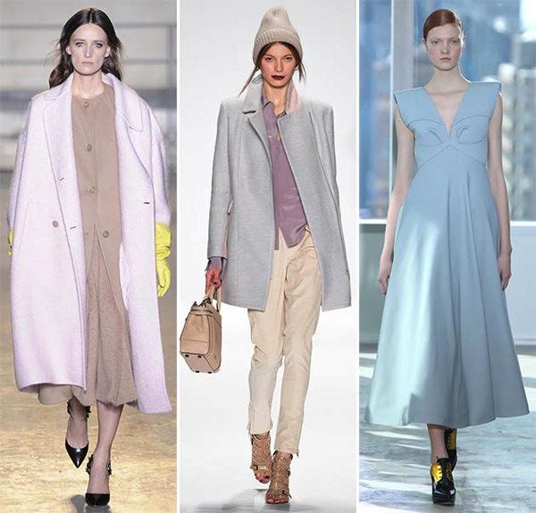 Модные цвета осень 2014