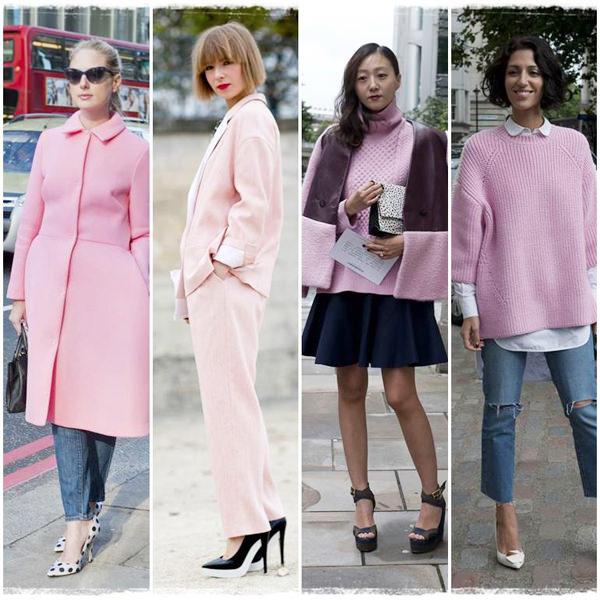 нежно-розовые цвета 2014-2015