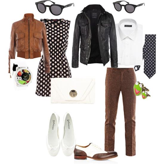 с чем носить коричневые брюки в офис