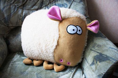 что подарить на Новый год 2015 игрушка овечки