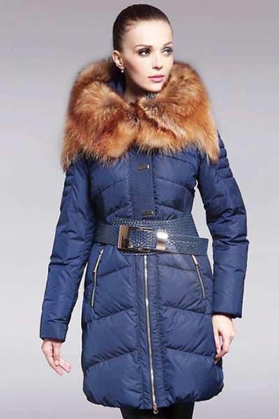 модные пуховики зима 2015 красивый мех