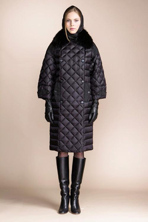 модные пуховики зима 2015 пуховик-пальто
