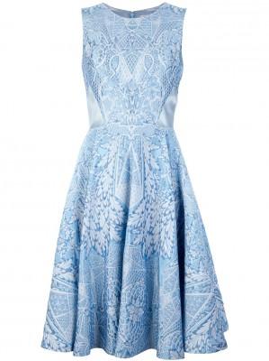 что надеть на Новый год 2015 голубое платье